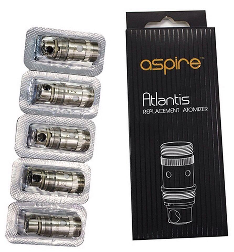 Aspire Atlantis Replacement Subtank Coils Generic 0.5 Ohms V2 Clone