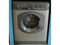 F360 graphite hotpoint 6kg 1600 spin washing machine with warranty can be delivered or collected