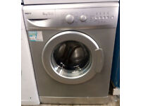 a739 silver beko 6kg 1400spin A+A washing machine comes with warranty can be delivered or collected