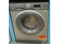 w511 graphite hotpoint 9kg 1400spin A+++ rated washing machine new graded with warranty