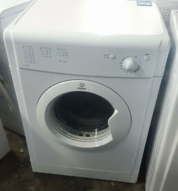 l322 white indesit 6kg vented dryer comes with warranty can be delivered or collected