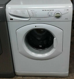 b167 white hotpoint 6kg 1200spin washing machine comes with warranty can be delivered or collected