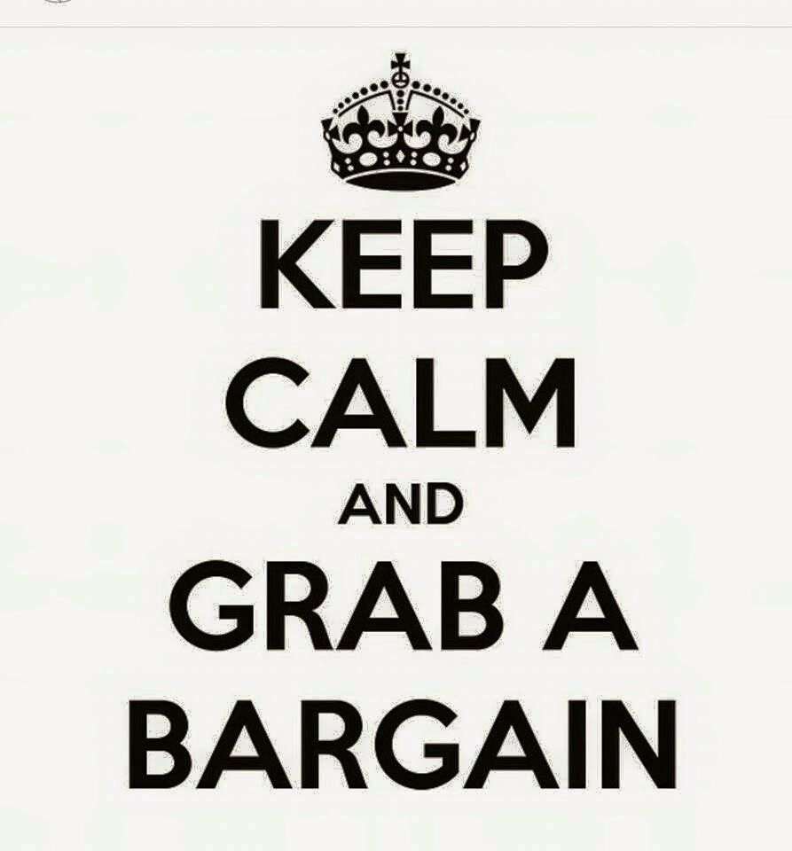 Grab your bargain