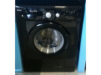 F352 black beko 6kg 1400 spin washing machine with warranty can be delivered or collected