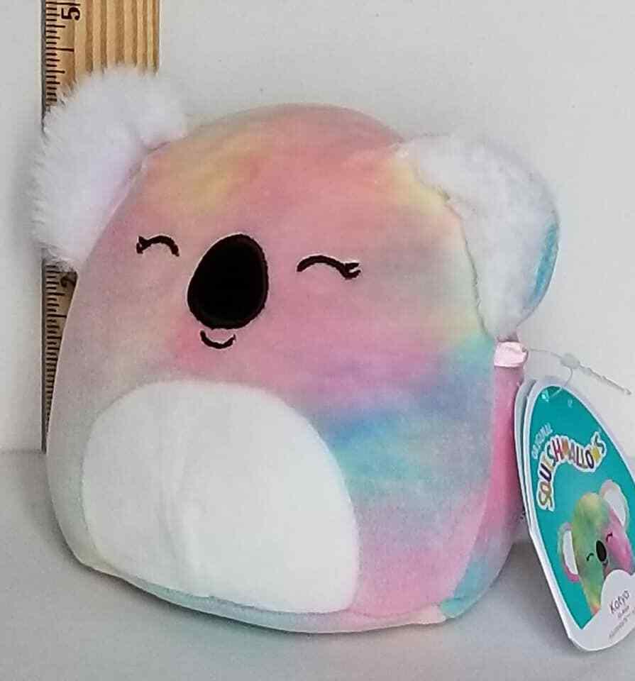 Squishmallow 5 Katya Koala Tie Dye Soft Plush BNWT FREE SHIP 734689481415 - $14.77