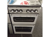 e031 silver stoves 50cm gas cooker comes with warranty can be delivered or collected