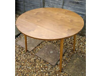 DROP LEAF DINING TABLE – H75 X D110 X W65CM (110CM WHEN EXTENDED)