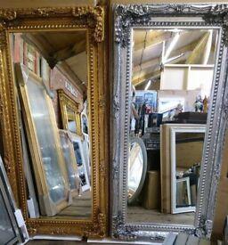 Large full length Ornate mirrors!! New !!