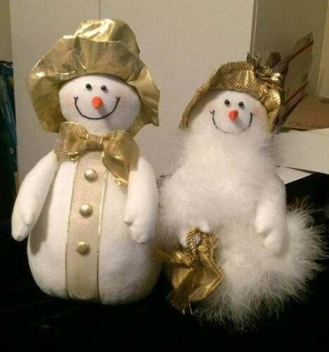 Mr. & Mrs. Snowman-FREE SHIPPING