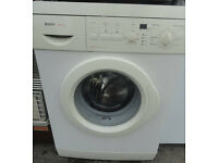 USED WORKING CONDITION, A NICE WHITE BOSCH EXXCEL WASHING MACHINE 1100 Spin 5KG