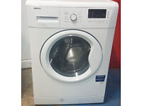 m468 white beko 7kg 1500spin washing machine comes with warranty can be delivered or collected