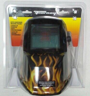 Forney 55859 Welding Helmet With Auto Darkening Visor - Practical Comfortable