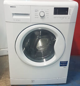 c468 white beko 7kg 1500spin washing machine comes with warranty can be delivered or collected