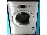 f344 white beko 8kg washing machine comes with warranty can be delivered or collected