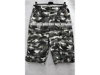 Moro pattern men shorts