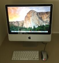 """(2009) 20"""" Apple iMac 2.66GHz 4GB RAM 320GB HD Hectorville Campbelltown Area Preview"""