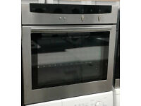 m672 stainless steel neff single electric oven comes with warranty can be delivered or collected