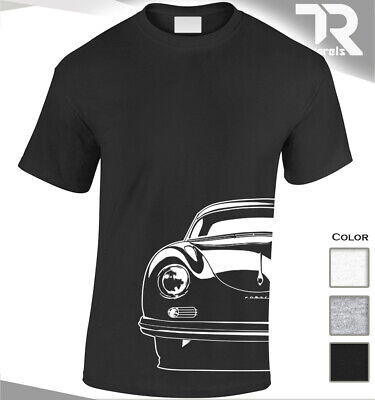 CLASSIC PORSCHE 356 FAN ENTHUSIAST T SHIRT SPORTS CAR TURBO VINTAGE CARRERA RS