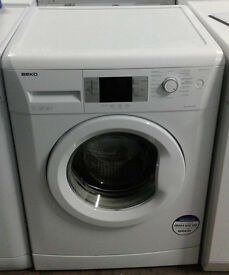 b058 white beko 7kg 1600spin A++ washing machine comes with warranty can be delivered or collected