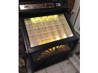 Vintage 1980s DDA Lynx CD jukebox, fully working, set to free play, holds up to 100 CDs.