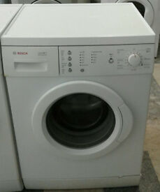 a676 white bosch 6kg 1200spin washing machine comes with warranty can be delivered or collected
