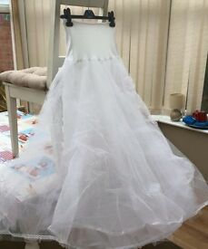 Wedding hooped underskirt