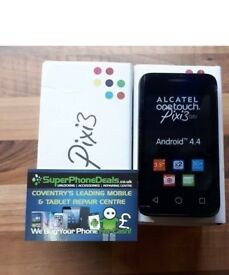 ALCATEL PIXI 3 UNLOCKED TO ALL NETWORKS - BRAND NEW £45