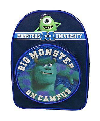 NEW Disney Monsters University Inc Kids Mike Arch School Bag Rucksack Backpack