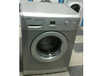 i002 silver beko 7kg 1400spin A+A washing machine comes with warranty can be delivered or collected