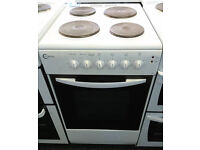 *84 white flavel 50cm solid ring electric cooker comes with warranty can be delivered or collected