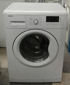 d006 white beko 7kg 1500spin A++ washing machine comes with warranty can be delivered or collected