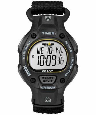 Timex T5K693, Men's Ironman 30-Lap Wrapstrap Watch, Alarm, Indiglo, Chronograph