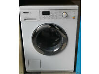 b713 white miele 5kg 1600spin washer dryer comes with warranty can be delivered or collected