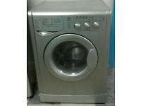 T282 silver indesit 6kg&4kg washer dryer comes with warranty can be delivered or collected