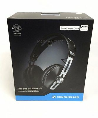 SENNHEISER M2 AEI Momentum 2.0 Apple® iOS-iPhone-iPad Over-Ear Headphones BLACK