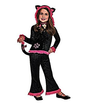Girls Kuddly Kitty Halloween Fancy  Costume TODDLERS 3 - 4 NEW](Toddler Girl Kitty Costume)