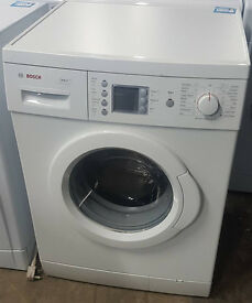 l318 white bosch 7kg 1400 spin washing machine comes with warranty can be delivered or collected