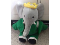 Plush Barbar the elephant