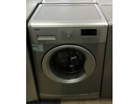 b106 silver beko 7kg 1500spin A++ rated washing machine comes with warranty can be delivered