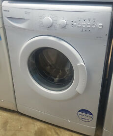 A391 white beko 6kg 1400spin washing machine comes with warranty can be delivered or collected