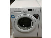 p336 white hotpoint 9kg 1400spin A++ rated washing machine comes with warranty can be delivered