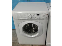 a187 white hotpoint 6kg 1400spin washing machine comes with warranty can be delivered or collected