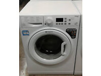C336 white hotpoint 9kg 1400spin A++ rated washing machine comes with warranty can be delivered