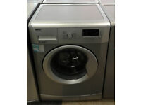 c106 silver beko 7kg 1500spin A++ rated washing machine comes with warranty can be delivered