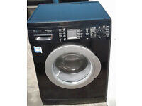 a338 black bosch 7kg 1200spin washing machine comes with warranty can be delivered or collected