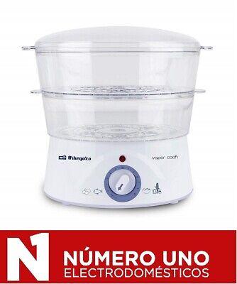 Vaporera eléctrica Orbegozo CO 4000, 5L, 800W, libre de BPA,