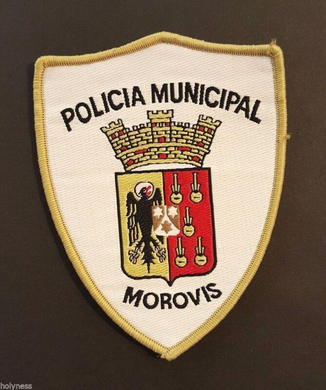 VINTAGE OBSOLETE PUERTO RICO POLICE PATCH / MOROVIS PR // RARE TYPE