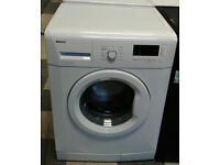 a596 white beko 7kg 1300spin A++ rated washing machine come with warranty can be delivered