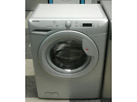 a563 silver hoover 7kg 1400spin A+ rated washing machine comes with warranty can be delivered