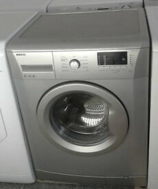 c643 silver beko 6kg 1600spin A+ washing machine comes with warranty can be delivered or collected